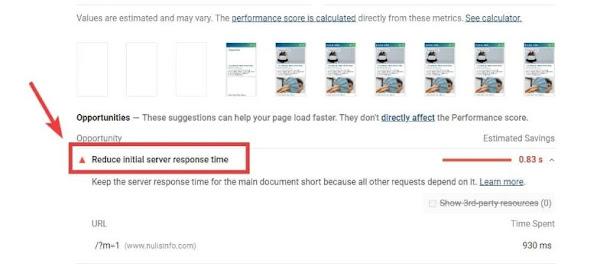 Khắc phục lỗi: Giảm thời gian phản hồi ban đầu của máy chủ cho blogspot