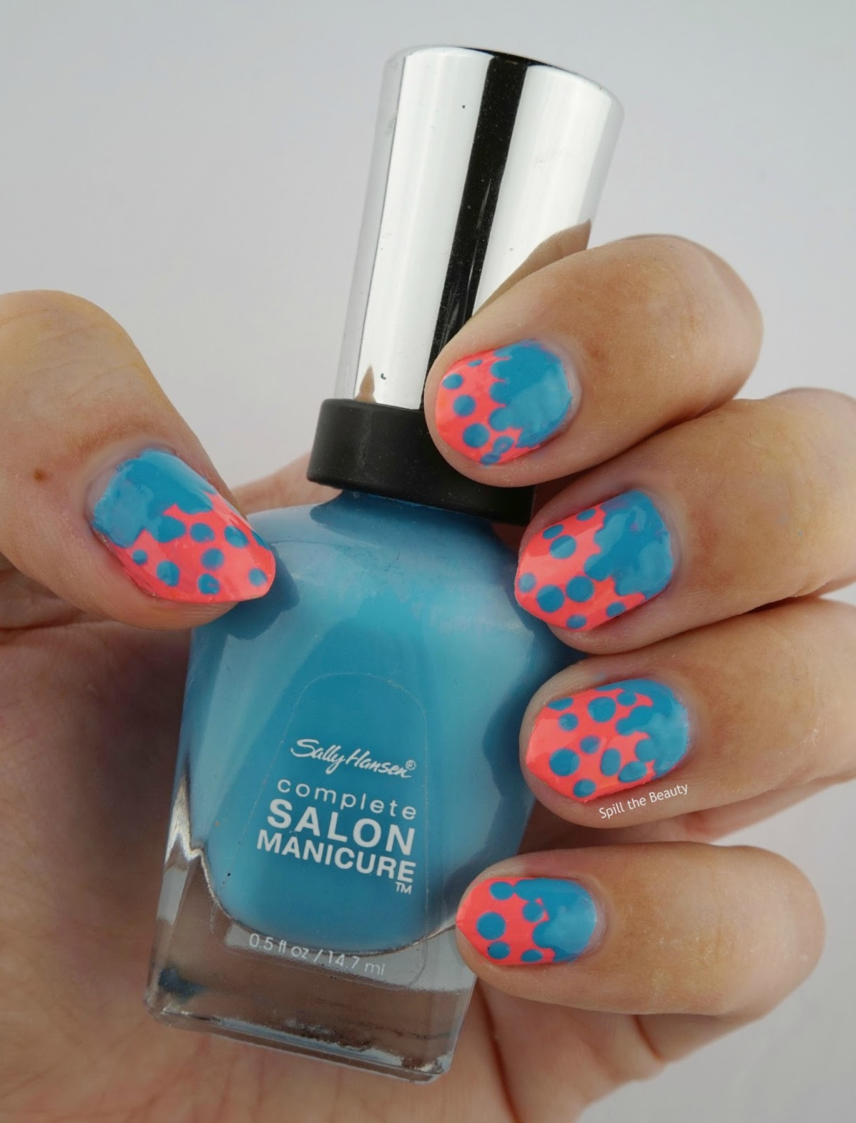 Quo by Orly 'Pink Bikini' Sally Hansen Complete Salon Manicure 'Himalayan Blue'