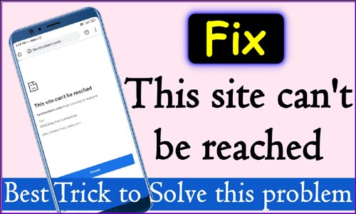 This-site-can-not-be-Reached-Solution -Google-chrome