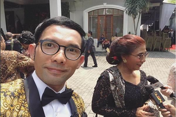 Aduh, Indra Herlambang Ditampar Menteri Susi di Pernikahan Kahiyang, Kenapa ya?