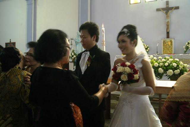 Pemberkatan Perkawinan Adat Batak Toba