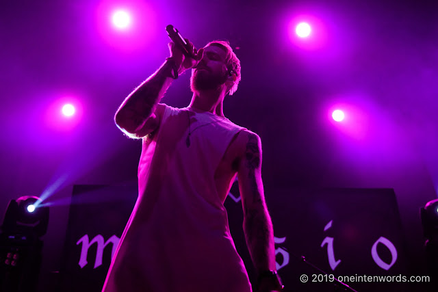 Missio at The Danforth Music Hall on October 6, 2019 Photo by John Ordean at One In Ten Words oneintenwords.com toronto indie alternative live music blog concert photography pictures photos nikon d750 camera yyz photographer