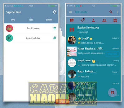 Tema MIUI Mod ICE Blue Tosca Full Theme For Xiaomi