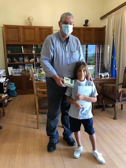 Γιάννενα: Στον Περιφερειάρχη Ηπείρου Ο «Έλληνας Μότσαρτ» Στέλιος Κερασίδης!