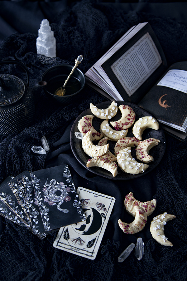 Biscuits lunes pour Halloween