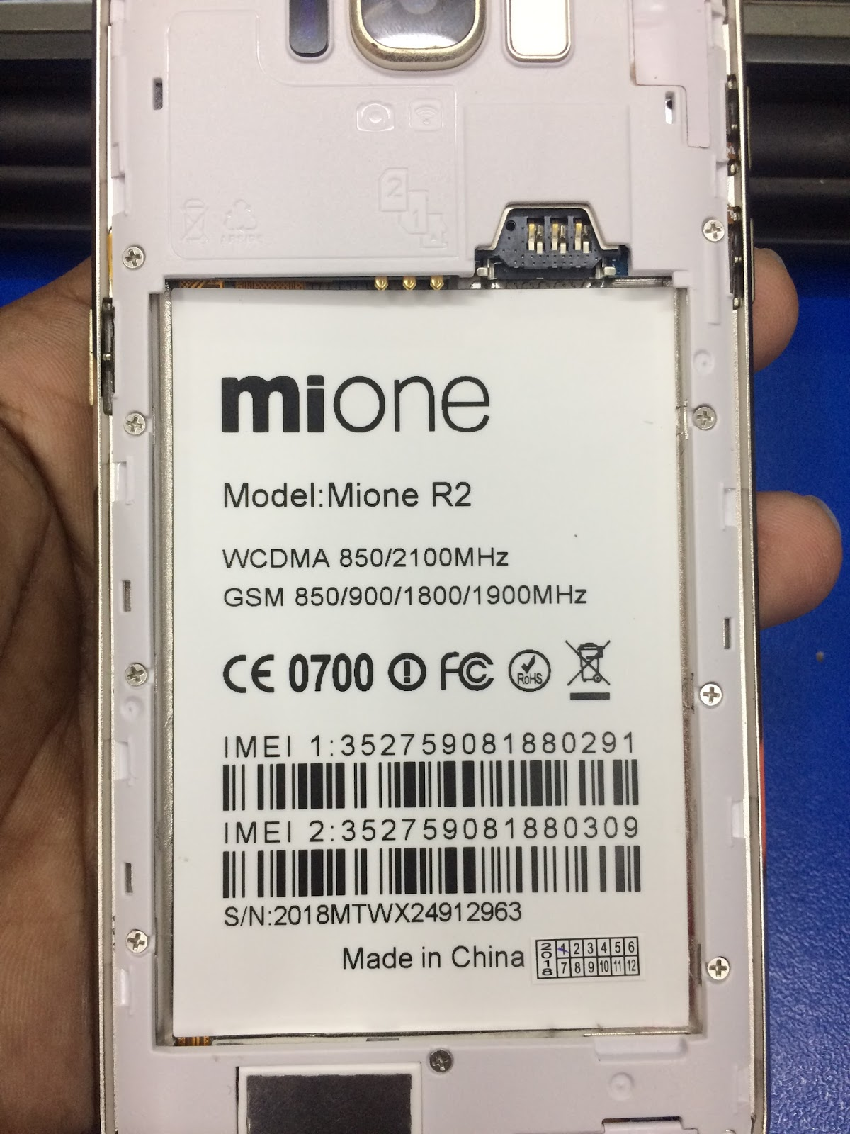 Mione R2 Flash File