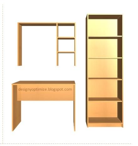 Dise o de muebles madera muebles escritorio biblioteca for Libros de diseno de muebles