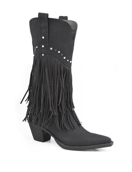 Peebles Roper Oakley western boots