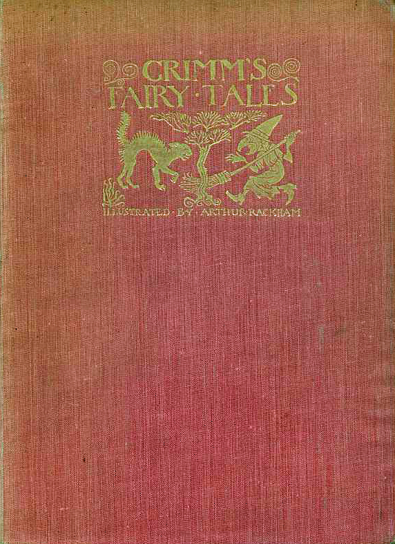 Art artists arthur rackham part 1 for Fairy tale book cover template