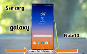 Samsung Galaxy note10 lunch in August 2019