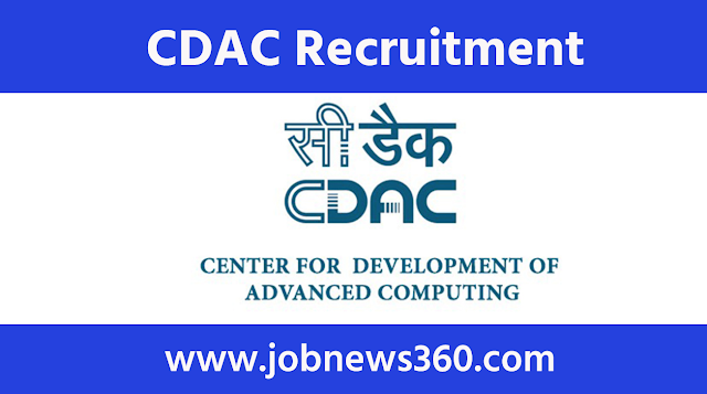 CDAC Chennai Recruitment 2020 for Project Associate