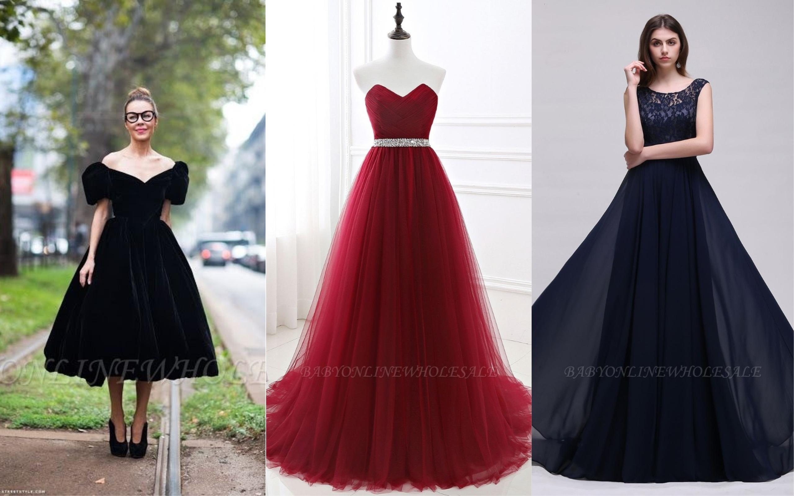 Vestidos clássicos para festa