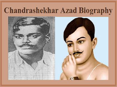 Chandrasekhar Azad Biography