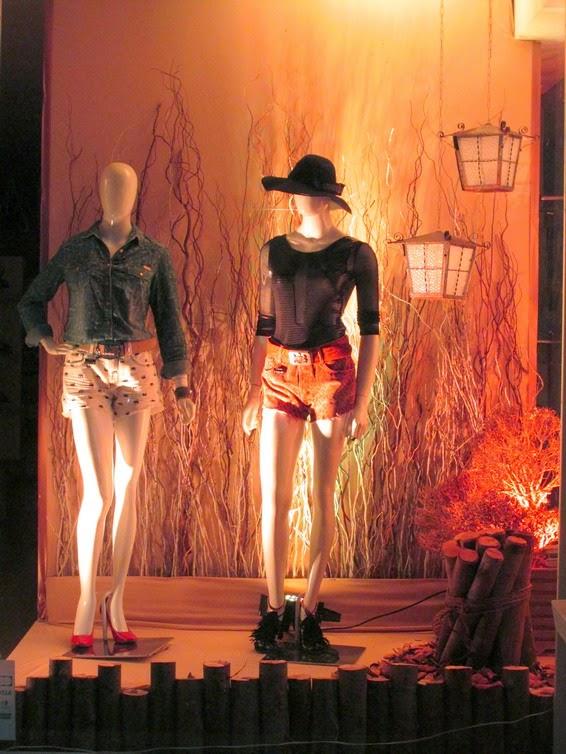 Blog Loja Milenium Loja Milenium apresenta vitrine de outono inverno 2015 para a temporada -> Decoração De Outono Para Lojas
