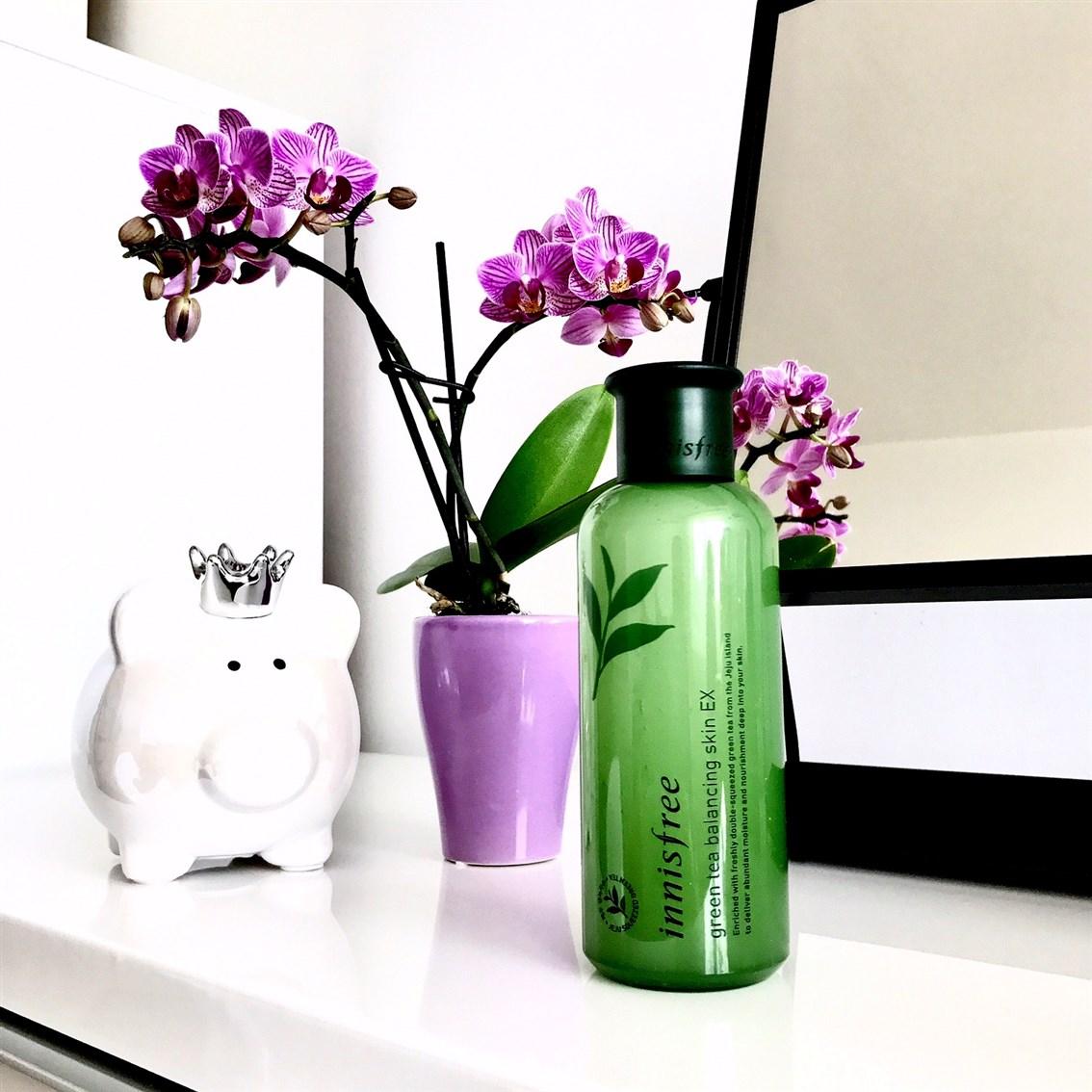 zdjęcie przedstawiające Innisfree Green Tea Balancing Skin EX