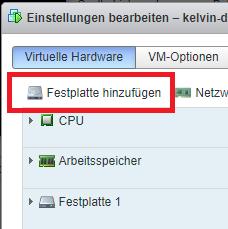 VM in Konsole unter VMware ESXi klonen
