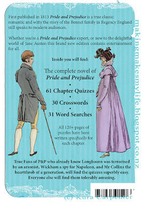 Jane Austen's Pride and Prejudice – Quiz Book - Complete Novel Plus: Quizzes, Crosswords and Word Searches is the perfect gift for the Jane Austen fan who has everything and still wants more!