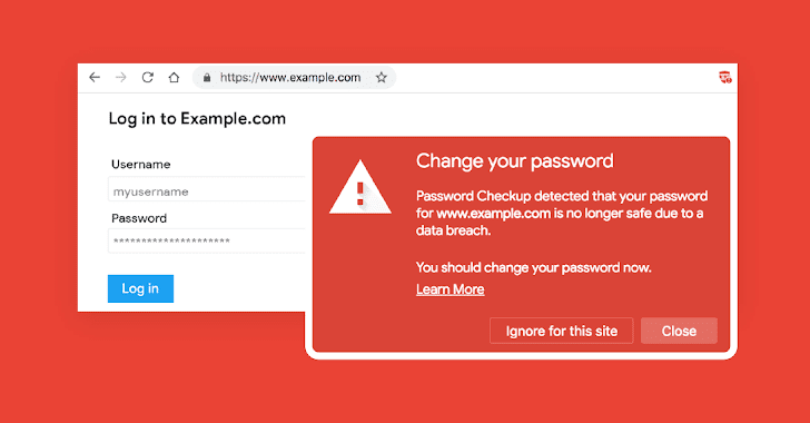 google password checkup data breaches
