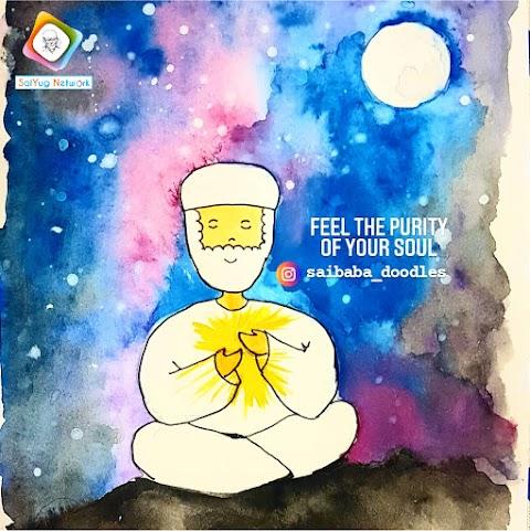 Soul - Sai Baba Doodle Art Showcase