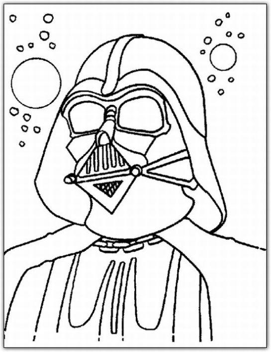 Ausmalbilder zum Ausdrucken: Ausmalbilder Star Wars zum