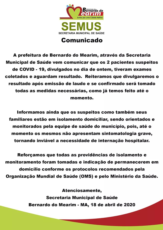 Blog Do Ricardo Farias Semus Comunica Dois Casos