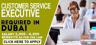 Customer Service Executive Jobs Vacancy Accuver Calibration Laboratory Co LLC Location Dubai