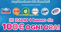 Logo Concorso ''L' ABC del Pulito'' : vinci 510 buoni spesa (MyWinCard) da 100€