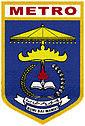 Kota Metro, cpns Kota Metro, logo / lambang Kota Metro