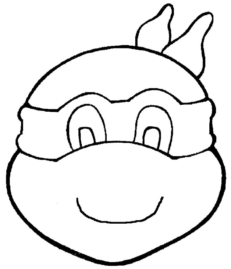 Desenhos Das Tartarugas Ninja Para Colorir Pintar Imprimir