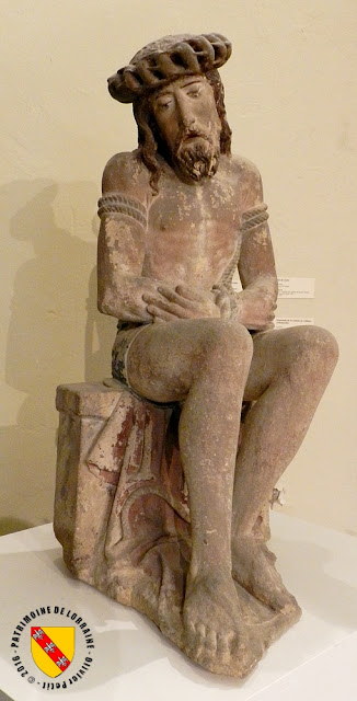 NANCY (54) - Musée lorrain : Christ aux liens (XVIe siècle)