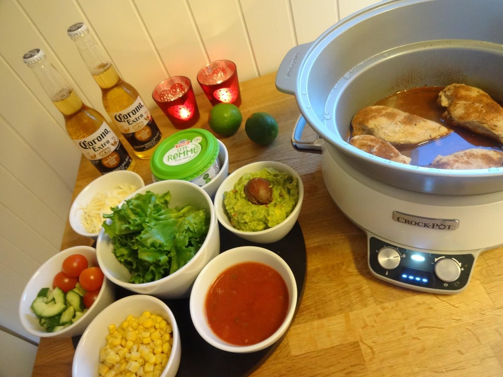 c69b8e93 Serveres med ønsket tilbehør og ett 'must' hjemmelaget Guacamole ! Server  gjerne ett glass Corona med lime til retten ♫
