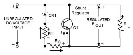 Transistorized Shunt Voltage Regulator