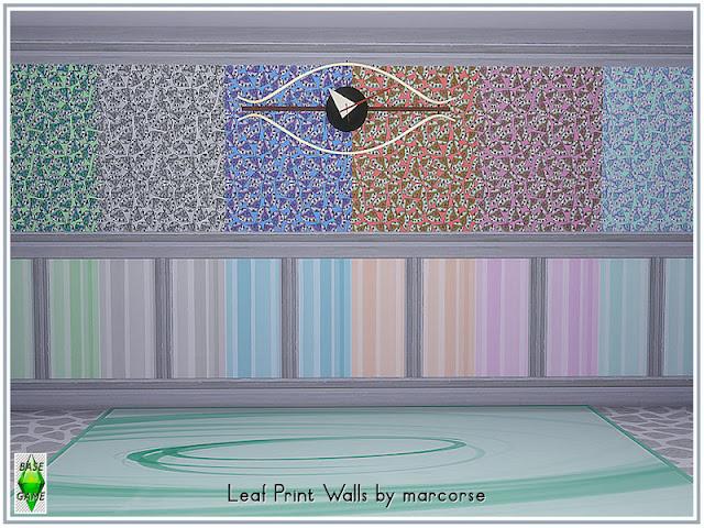 Стены с низкими панелями для Sims 4 со ссылкой для скачивания
