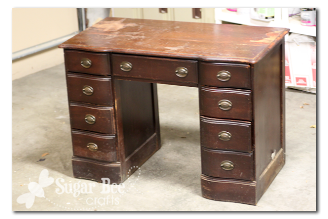 turn a desk into a nightstand yourself tutorial idea