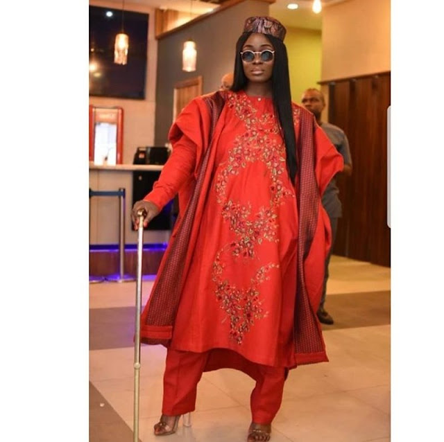 Latest Agbada Styles for Ladies