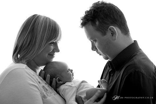 First ever Family Picture | Studio Photography Sessions Cornwall Devon