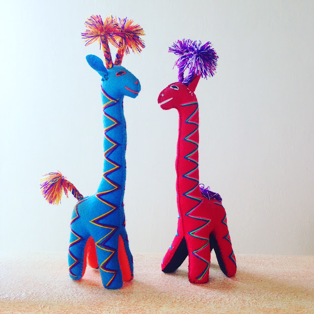hand woven Mexican stuffed animals, coming soon to Fitzroy Boutique