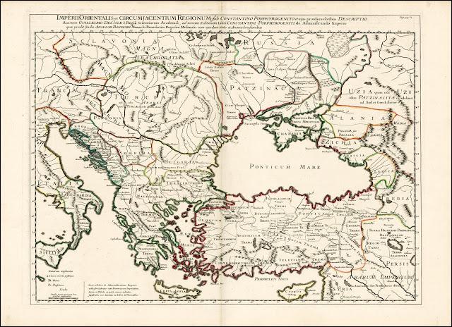 казахия, казахский язык, аланский язык, карачай на карте 18 века, историческая карта кавказа