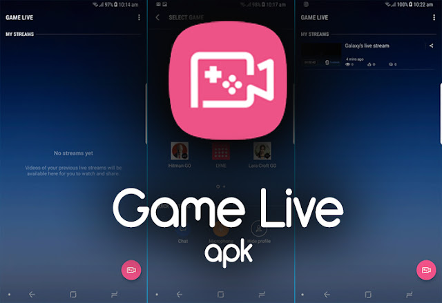 Game Live APK to Download For All : To Stream Stream Your Screen Live to Facebook, Twitch, Twitter or YouTube