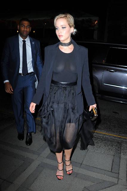 Jennifer Lawrence Night Out Style