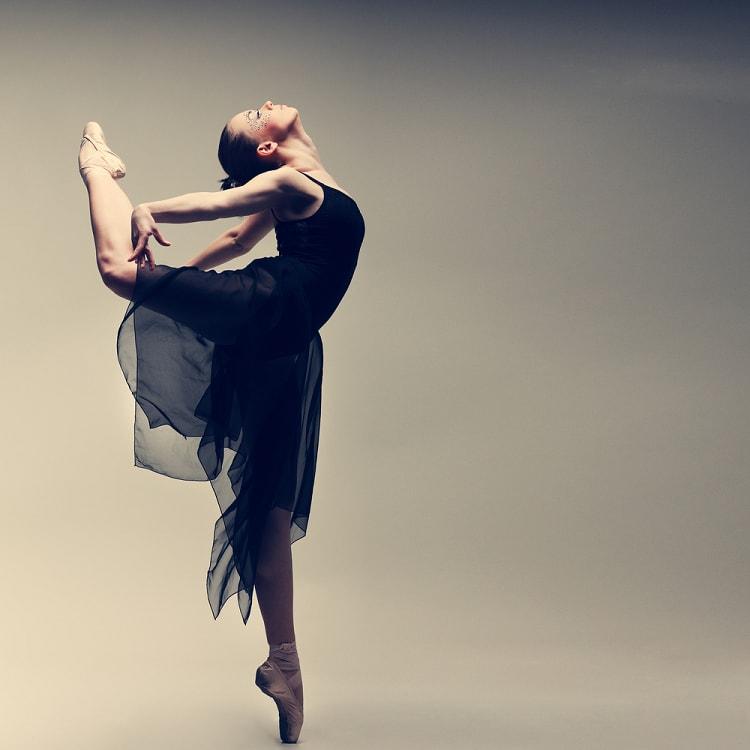 One leg Ballet Dancing