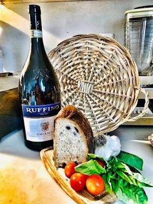 Making Black Olive Bread - Pane Alle Olive Nere