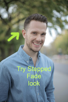 keeping side part stepped is the best Curly Hair style for man and is one of the essential in curly hair mens haircut list