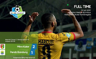 Mitra Kukar vs Persib Bandung 2-1 #Liga1