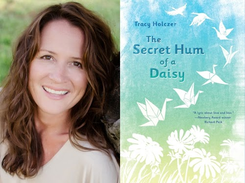 Tracy Holczer, author of The Secret Hum of a Daisy