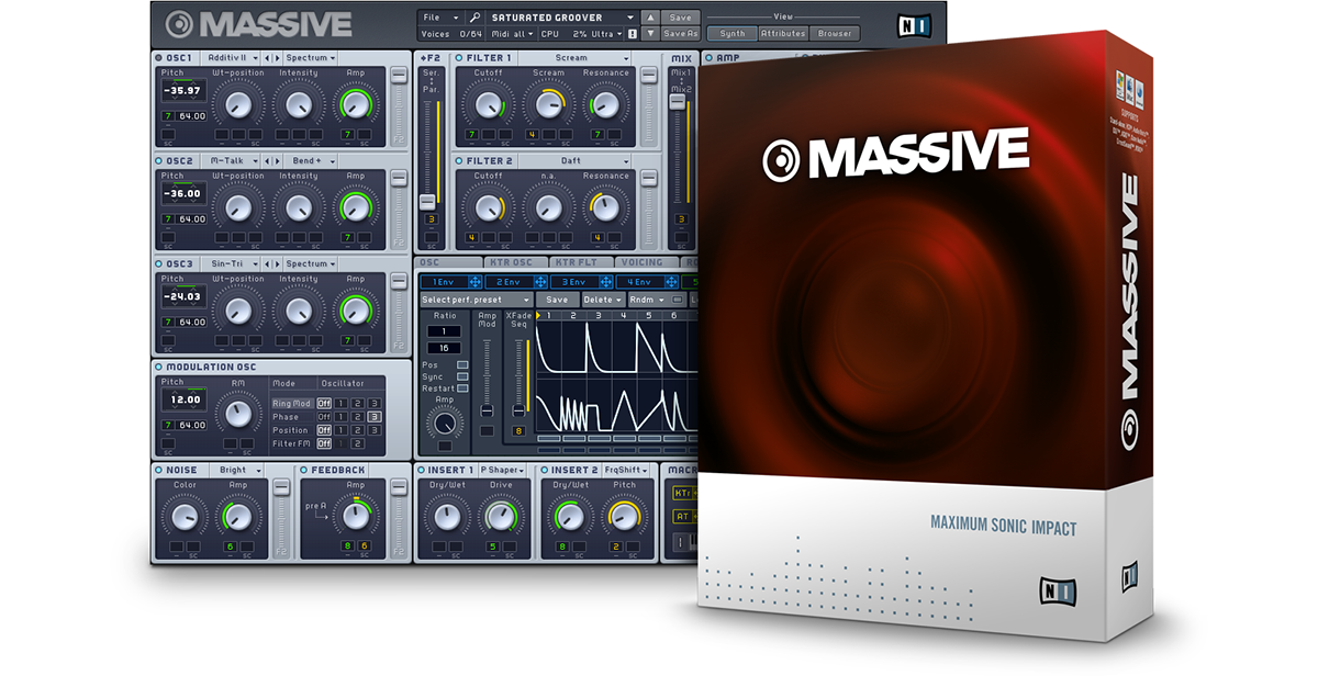 Native instruments massive vst plugin free download for pc cracked.