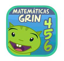 App primeros números matemáticas con grin