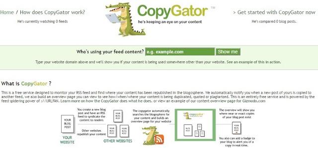 CopyGator Plagiarism Detector