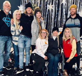 Picture of Amberley Snyder with her family