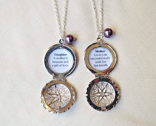 image mother daughter necklace set jewellery jewelry quote two cheeky monkeys locket